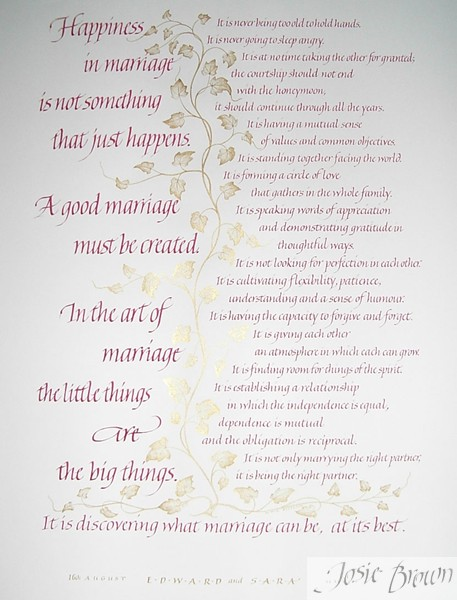 Famous Wedding Poems And Quotes Quotesgram